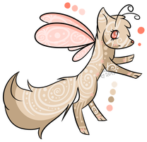 Beige Fairy by extraterrestriial