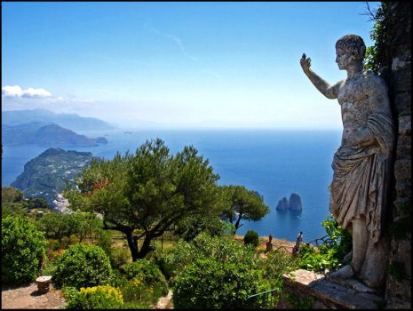 Italy - Watching over Capri by AgiVega
