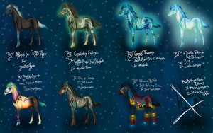 FOALS FROM SPACE OMG by RoseThornStables