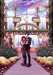 Jumin's Private Garden by rialynarts