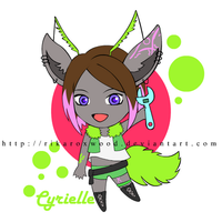 OC Gift: Cyrielle by RikaRoxwood