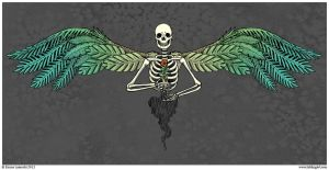 Seedling Wings - Entry for Threadless Loves Death by emla