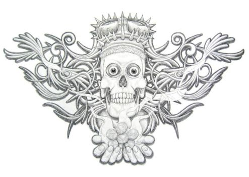 Skull design by ADNstudio
