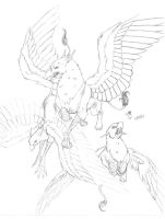 Tres Griffins by evolra