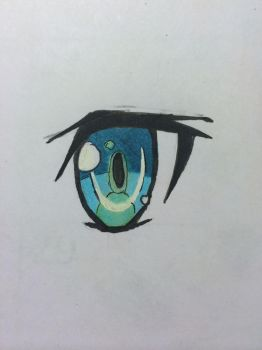 Manga Eye 1 by otaku-starlightlives