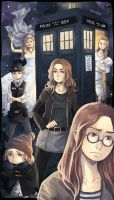 Doctor Who - Good bye Pond! by PetitPotato