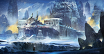 Dragon Temple in the Infinite Snow by ClaudioPilia