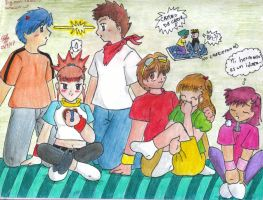 Team digimon tamers grown up by stefi-tails