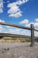 Canyon Fence by Stock-by-Kai