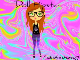 Doll hipster by CakeEditions7