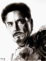 Iron Man by 7gnehzed