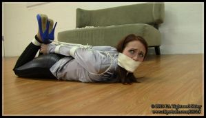 Madalynn Raye - hogtied for Tight and Shiny by ElizabethAndrews