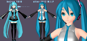 PROJECT DIVA Mikus Perfection WIP 3 by chatterHEAD