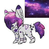 Shine Galaxy Cat Reference by AussieSpots