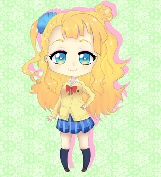 Galko-chan by ChibiSophie