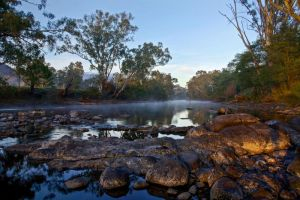 Goulburn River Fog by Bjay70
