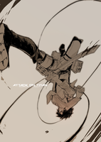 :Attack On by kinjiru006
