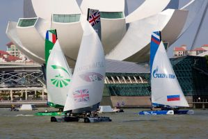Extreme Sailing Series - Singapore - 20140223 by TomFawls