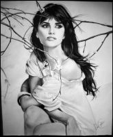 Penelope Cruz Drawing 2 by desiangel1