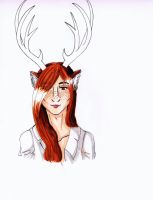 Pretty Deer Boy~ by Joelsweet