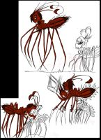 .:Spiders Oc's Progress:. by PhoenixSAlover