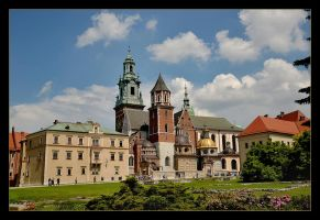 The Wawel Cathedral, Cracow, Poland by skarzynscy