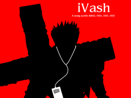 iPod 01 - Vash by BlueMoonCrescent