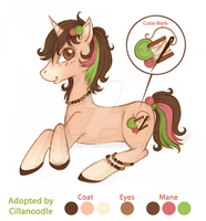 Adopt for Cillanoodle by tinuleaf
