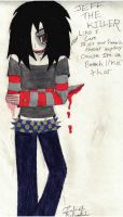 Jeff The KIller by SCOURGESBABE
