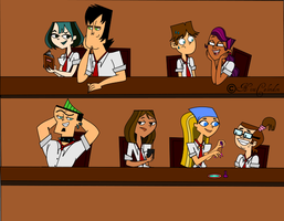Total Drama University by NiniCaleidon