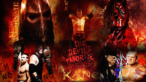 Kane WWE Wallpaper by Angelus23