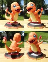 Charmander papercraft by Kayuna-Chan