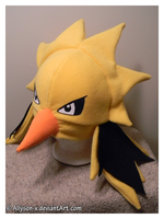Zapdos Hat by Allyson-x