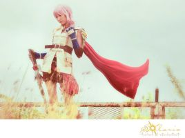 Claire 'Lightning' Farron IV by RacoonFactory