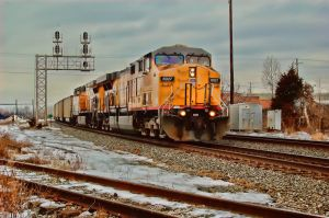 Union Pacific HDR by tm24fan