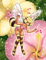 Bee Anime Fairy by solipherus