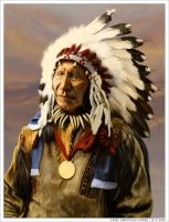 Chief AMERICAN HORSE by wendelin