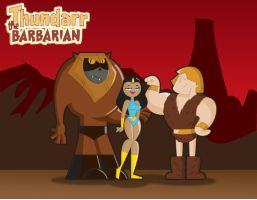 Thundarr the Barbarian by ralvarias