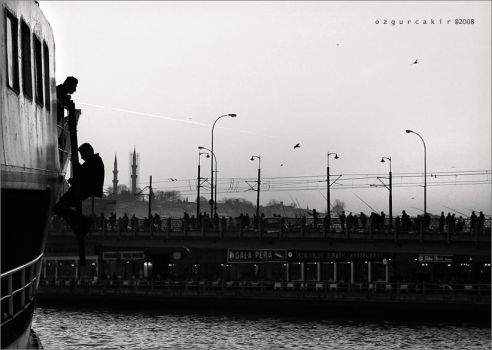 Working in Istanbul-III by oscarsnapshotter