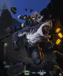 Street Sharks vs Biker Mice from Mars by XxADRxX