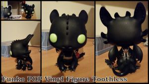 Funko POP Toothless by Vesperwolfy87
