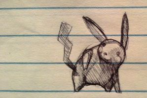 Sketch 26 Another Pika by legumebean