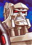 Megatron Sketchcard by Chad73