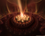 Fountain of Fire by LightningIsMyName