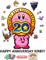 Kirby's 20th Anniversary Tribute by Deitz94