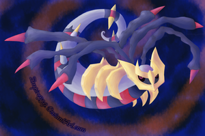 Giratina of Origins by empire539