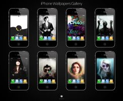 iPhone Wallpapers Gallery by alesfuck