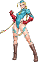 Street Fighter Bishoujo Cammy Alpha Costume by hes6789