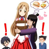.: Turnabout Kidnapping Asuna :. by Sincity2100