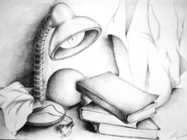 still life 2 by dr4wing-pencil